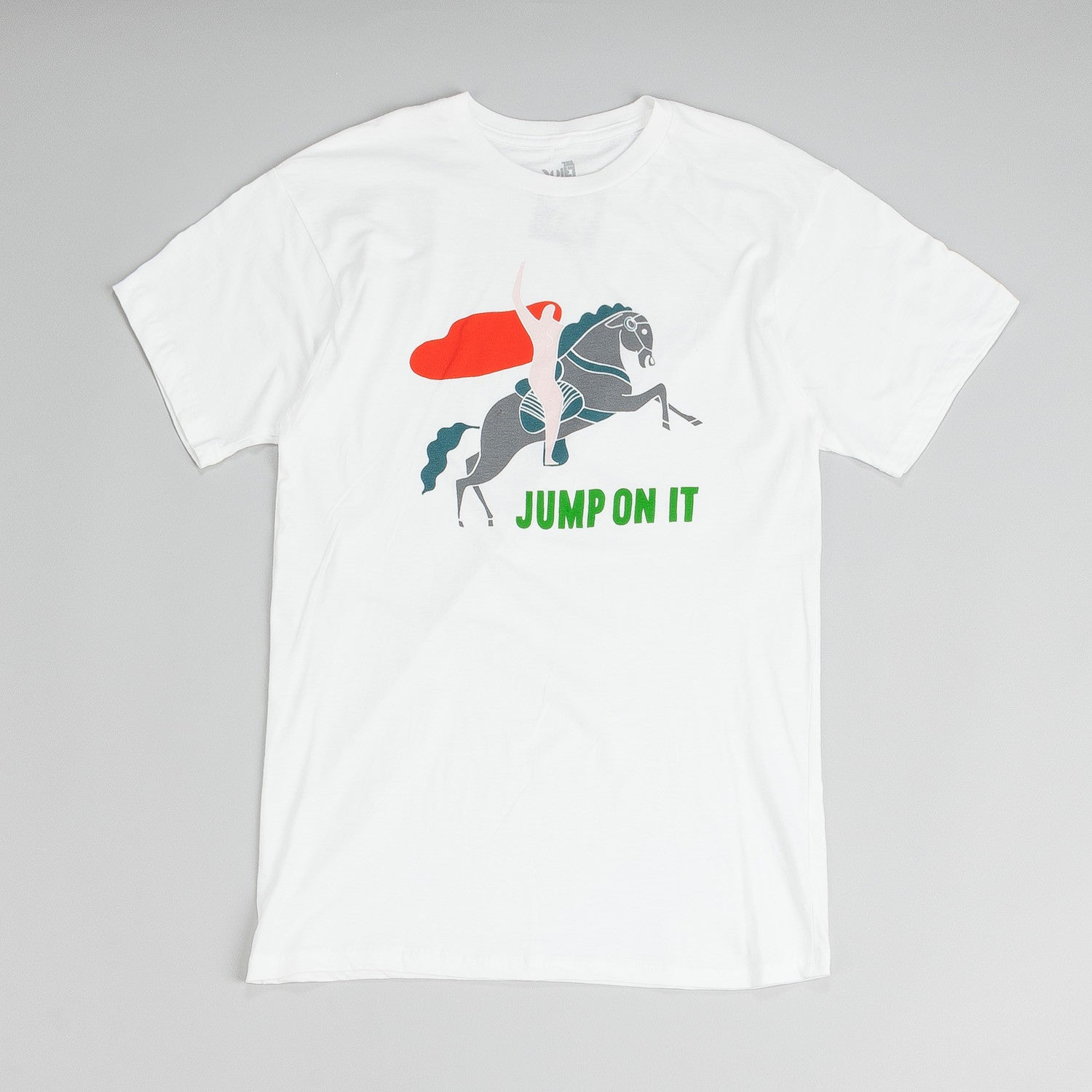 The Quiet Life Jump On It Premium T Shirt White