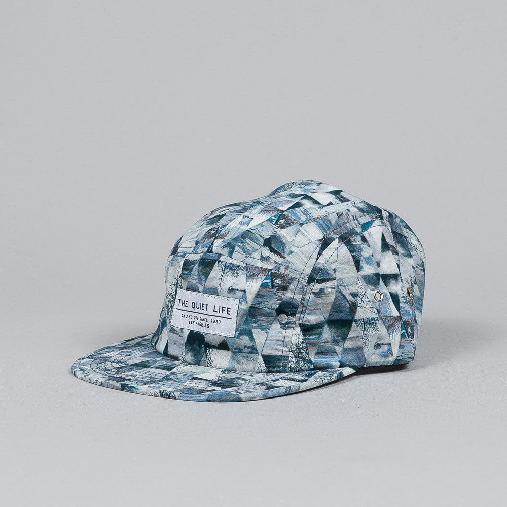 The Quiet Life Kaleidoscope 5 Panel Cap Blue