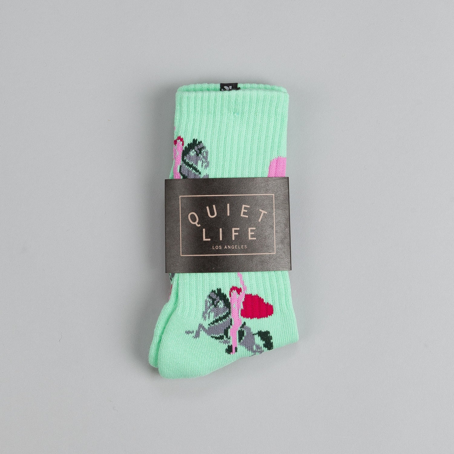 The Quiet Life Katsuo Socks Green