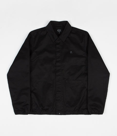 The Quiet Life Kenney Garage Jacket - Black