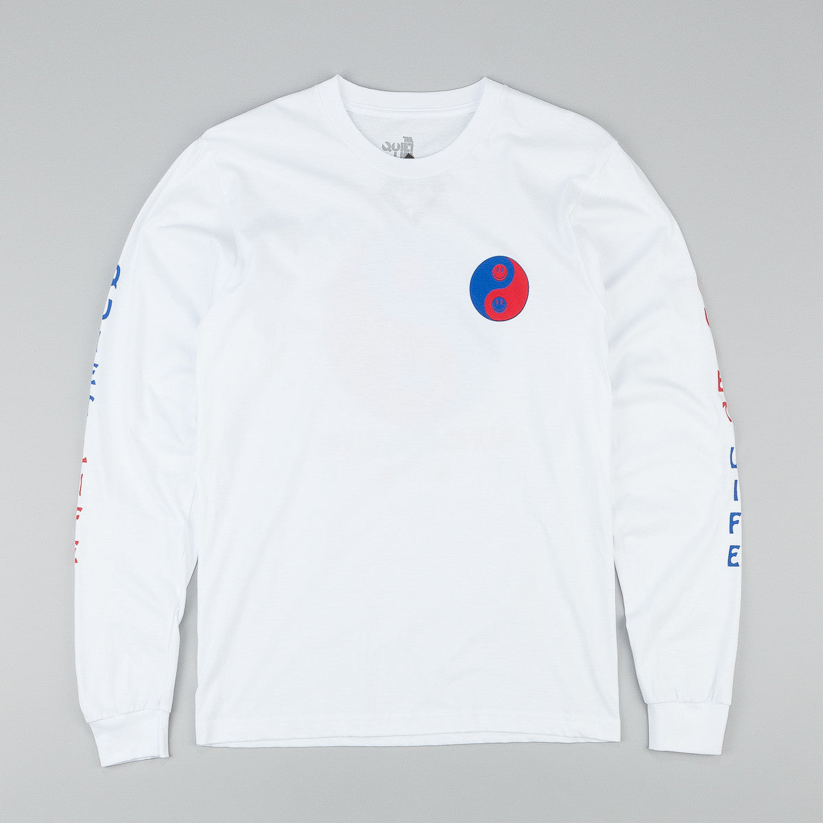 The Quiet Life Kung Fun Club L/S T-Shirt - White