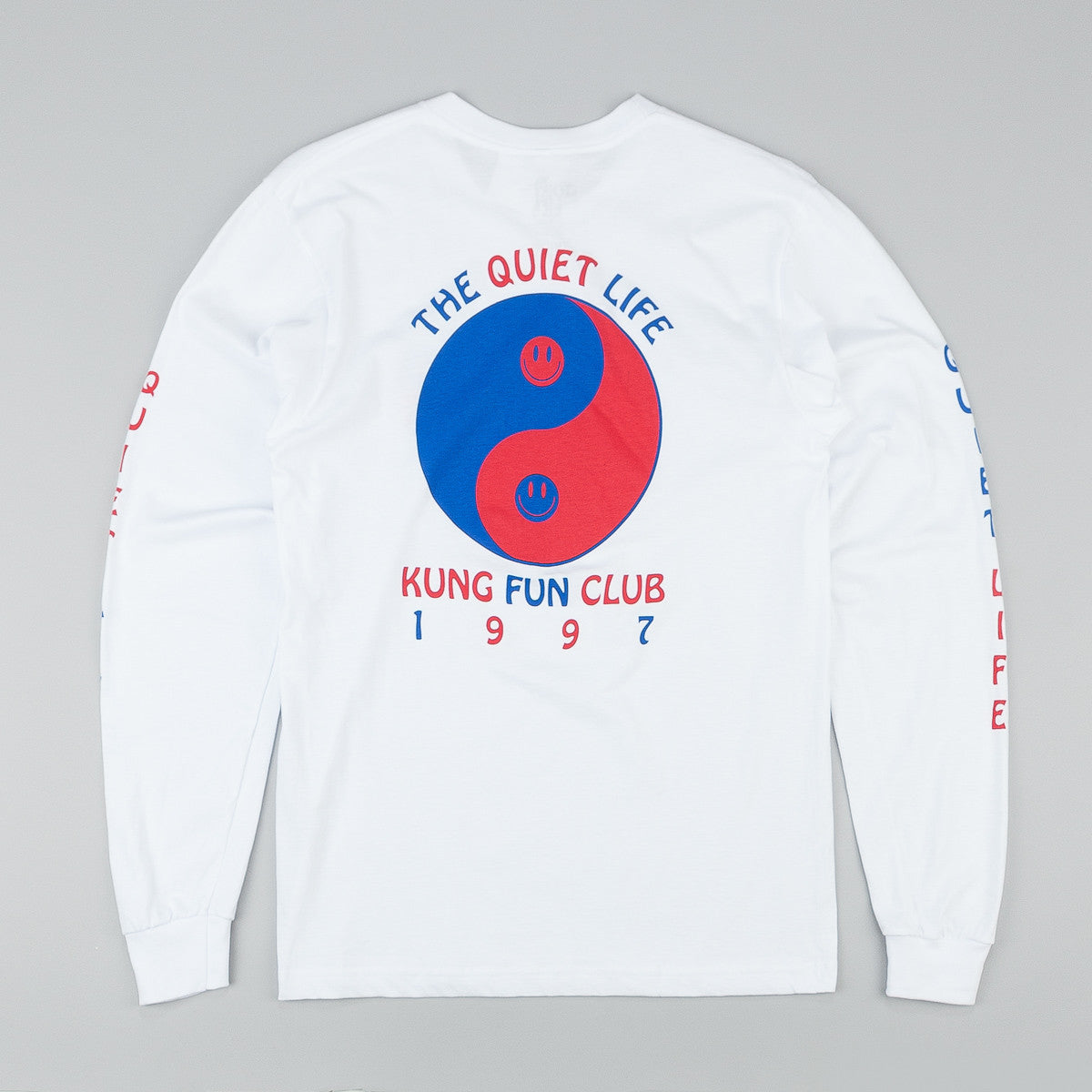 The Quiet Life Kung Fun Club Long Sleeve T-Shirt - White