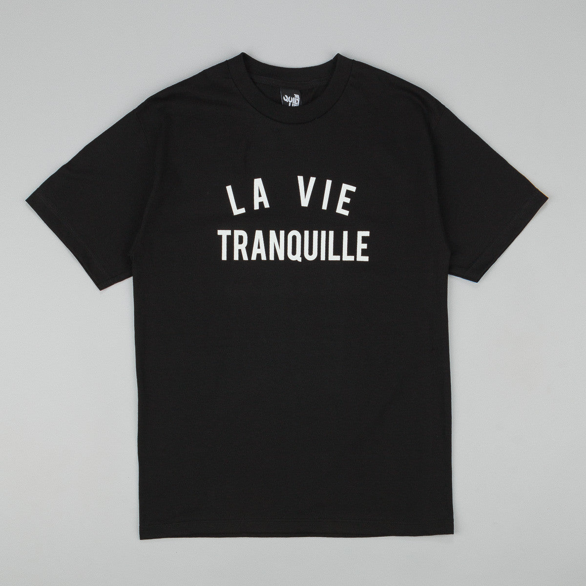 The Quiet Life La Vie T-Shirt - Black