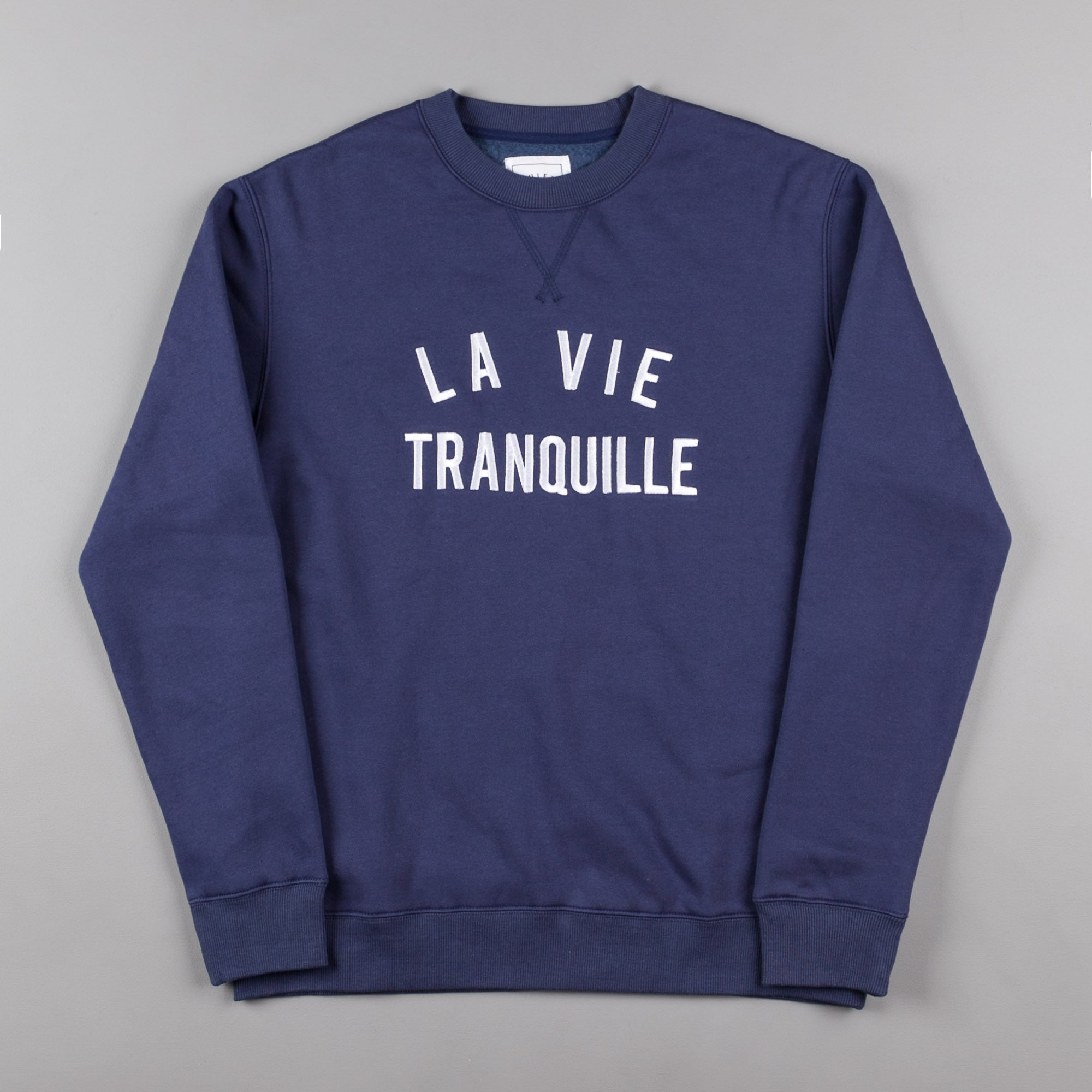 The Quiet Life La Vie Tranquille Crewneck Sweatshirt - Navy