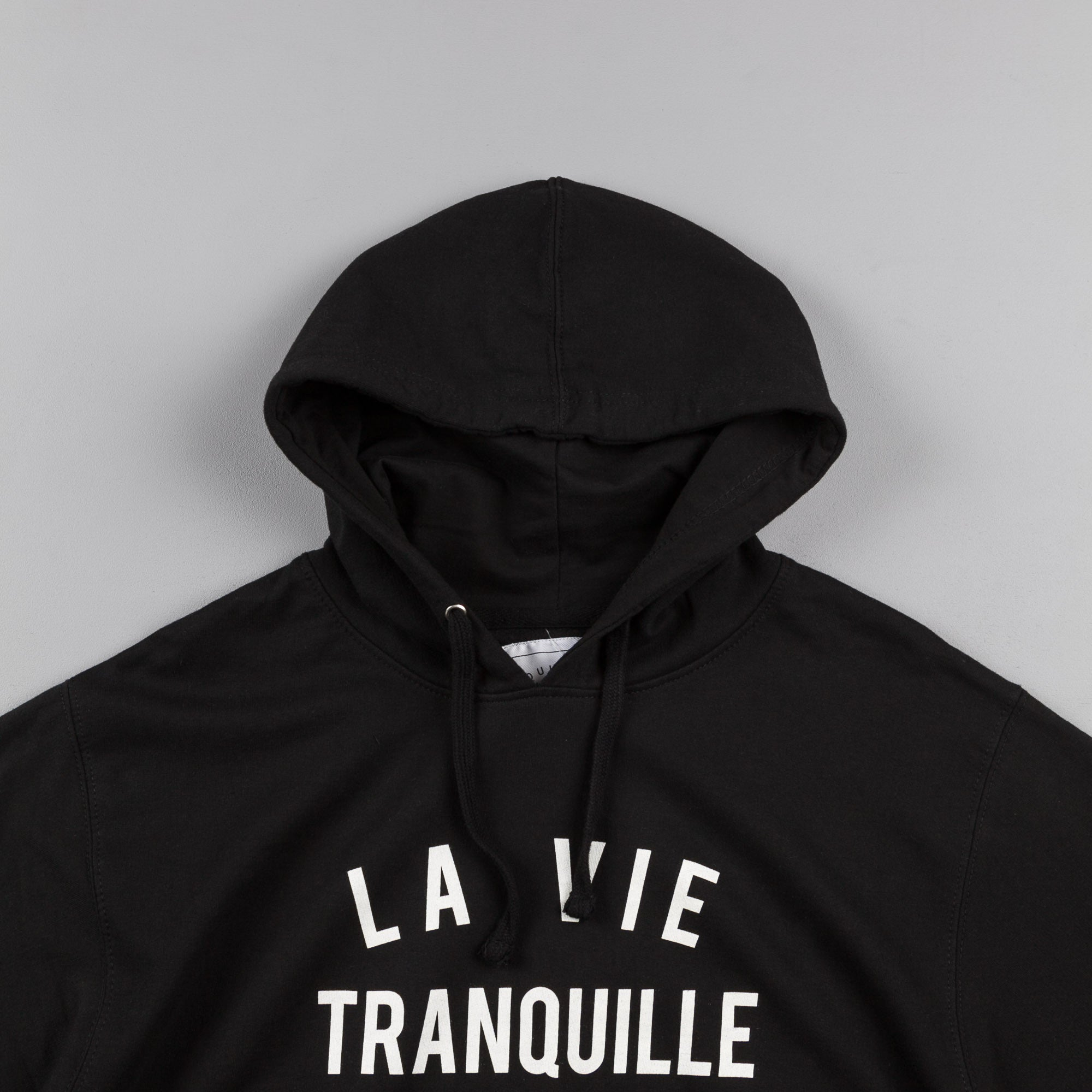 The Quiet Life La Vie Tranquille Hooded Sweatshirt - Black