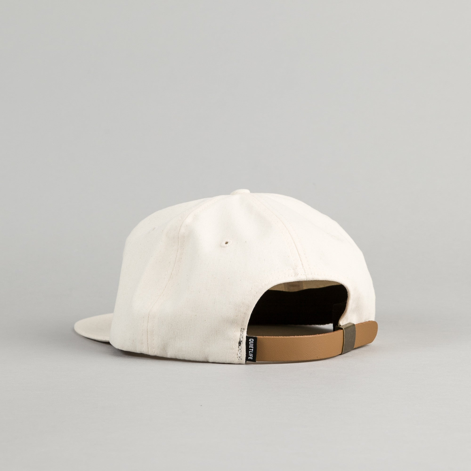 The Quiet Life La Vie Tranquille Polo Cap - Natural