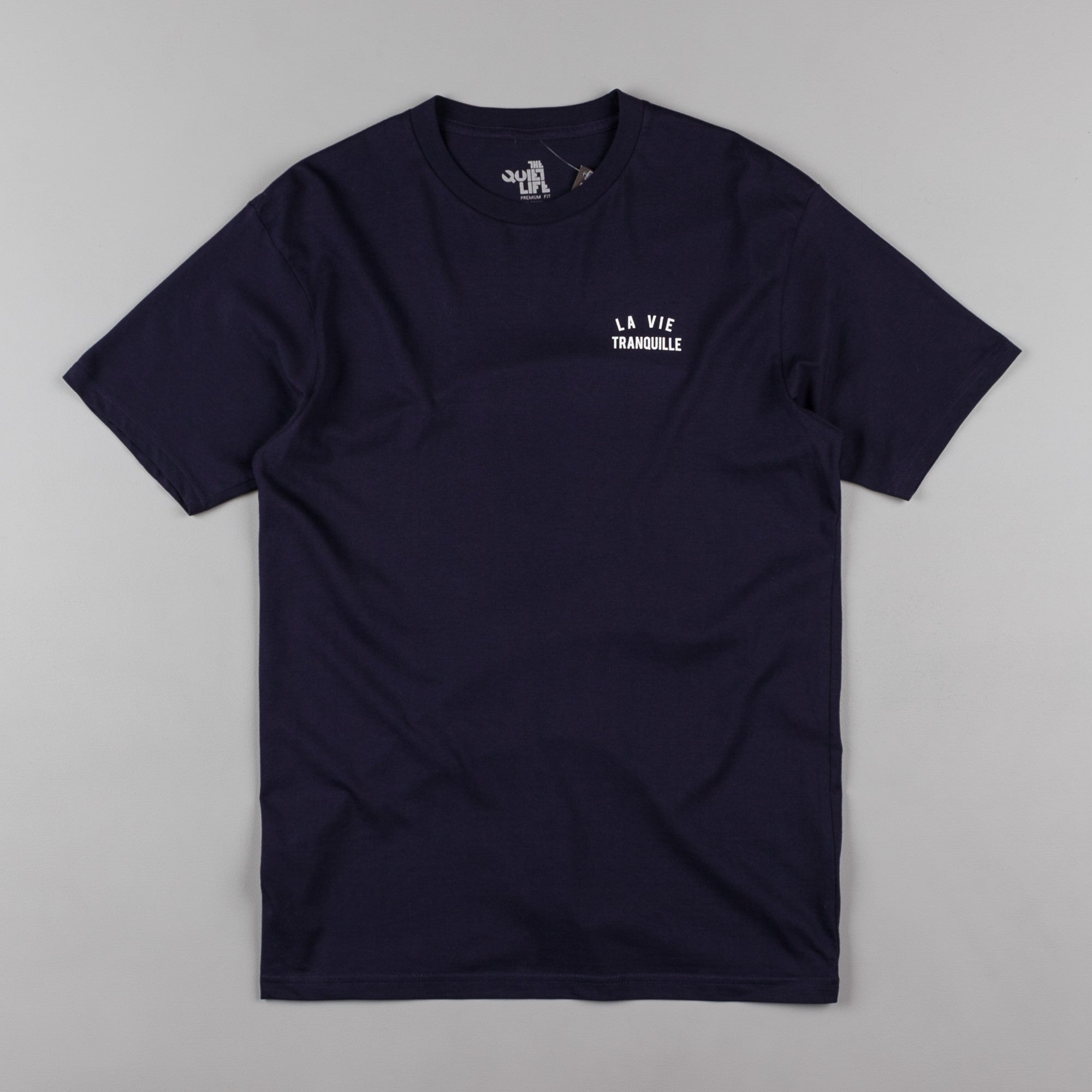 The Quiet Life La Vie Tranquille T-Shirt - Navy