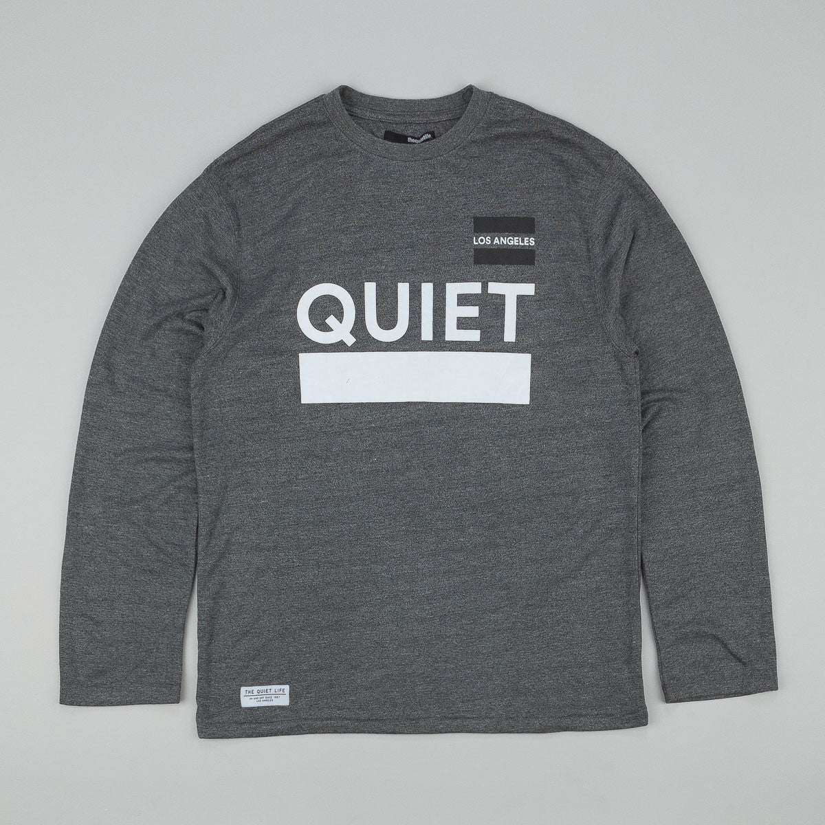 The Quiet Life League L/S T-Shirt - Heather Grey