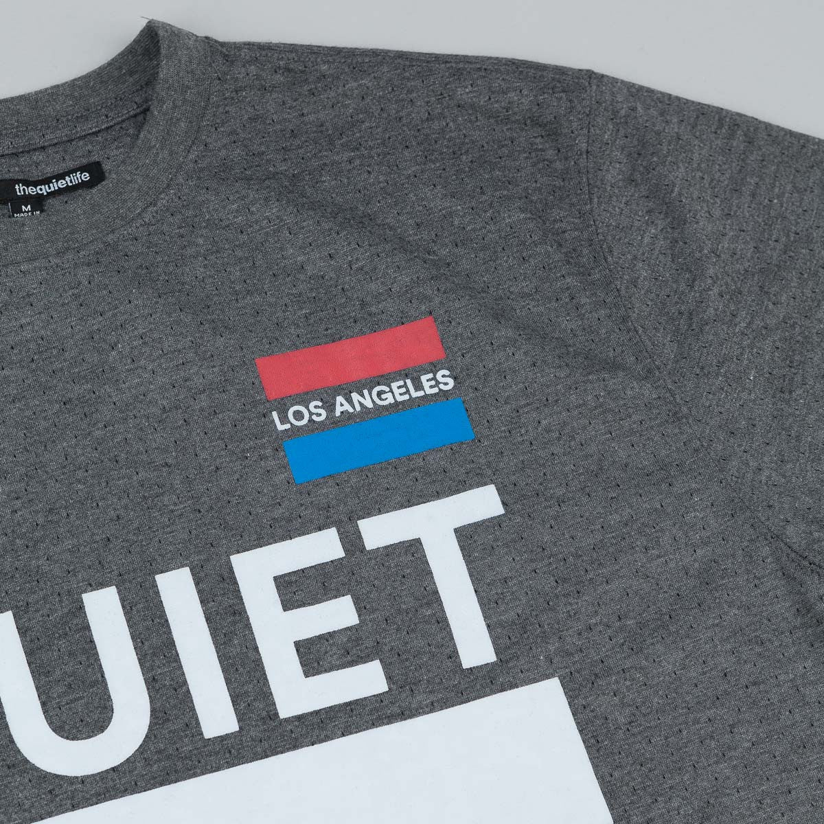 The Quiet Life League T-Shirt - Heather Grey