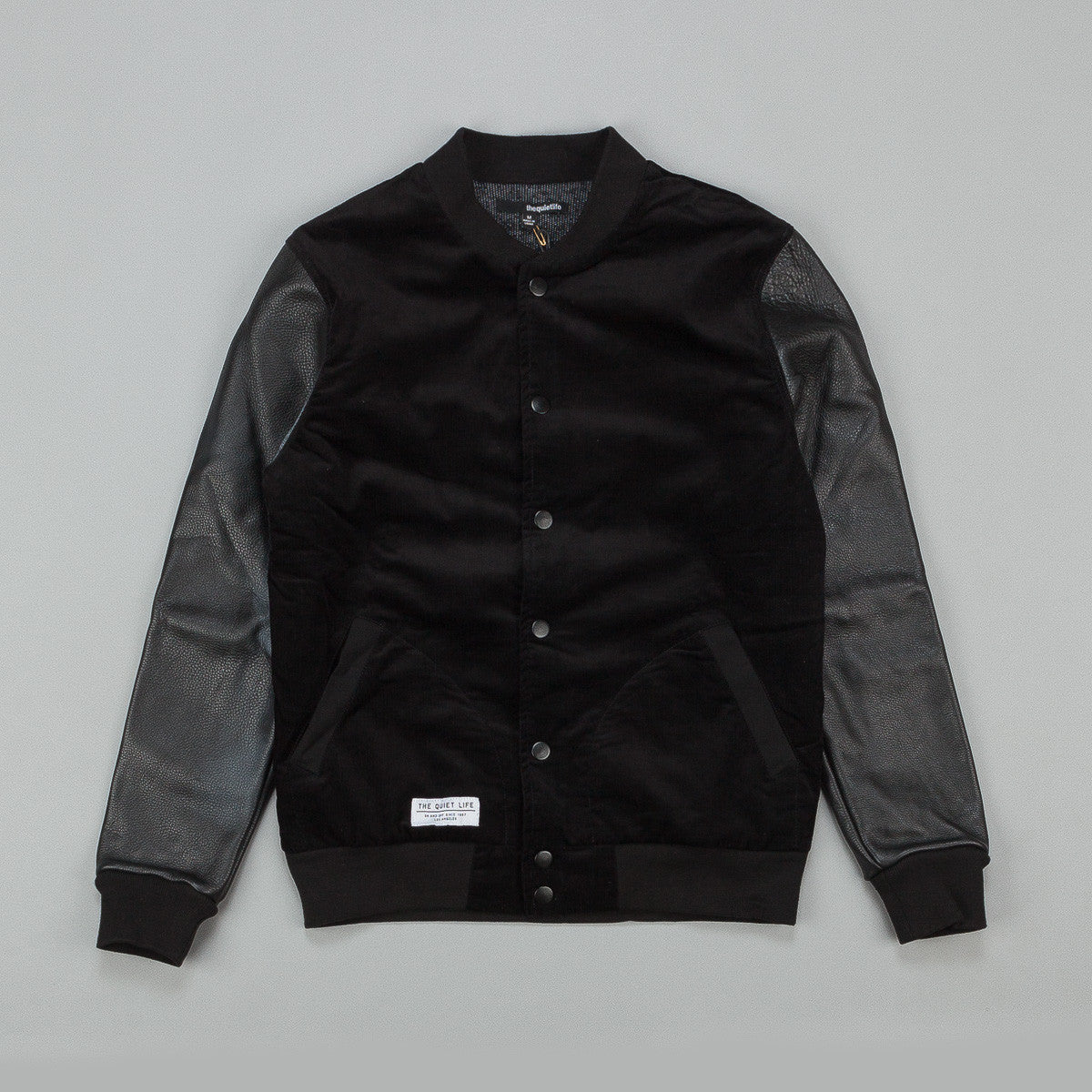 The Quiet Life Leather Arm Coach Jacket