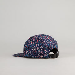 The Quiet Life Liberty All Over Confetti 5 Panel Cap - Navy