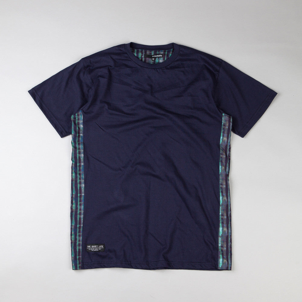 The Quiet Life Liberty Batik T Shirt Navy