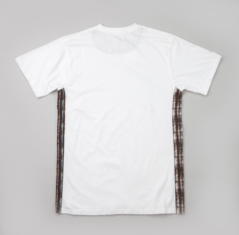 The Quiet Life Liberty Batik T Shirt White
