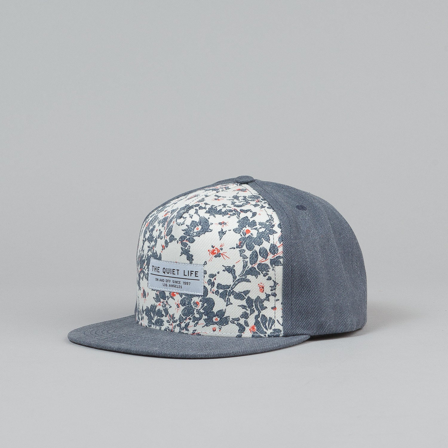 The Quiet Life Liberty Floral Snapback Cap