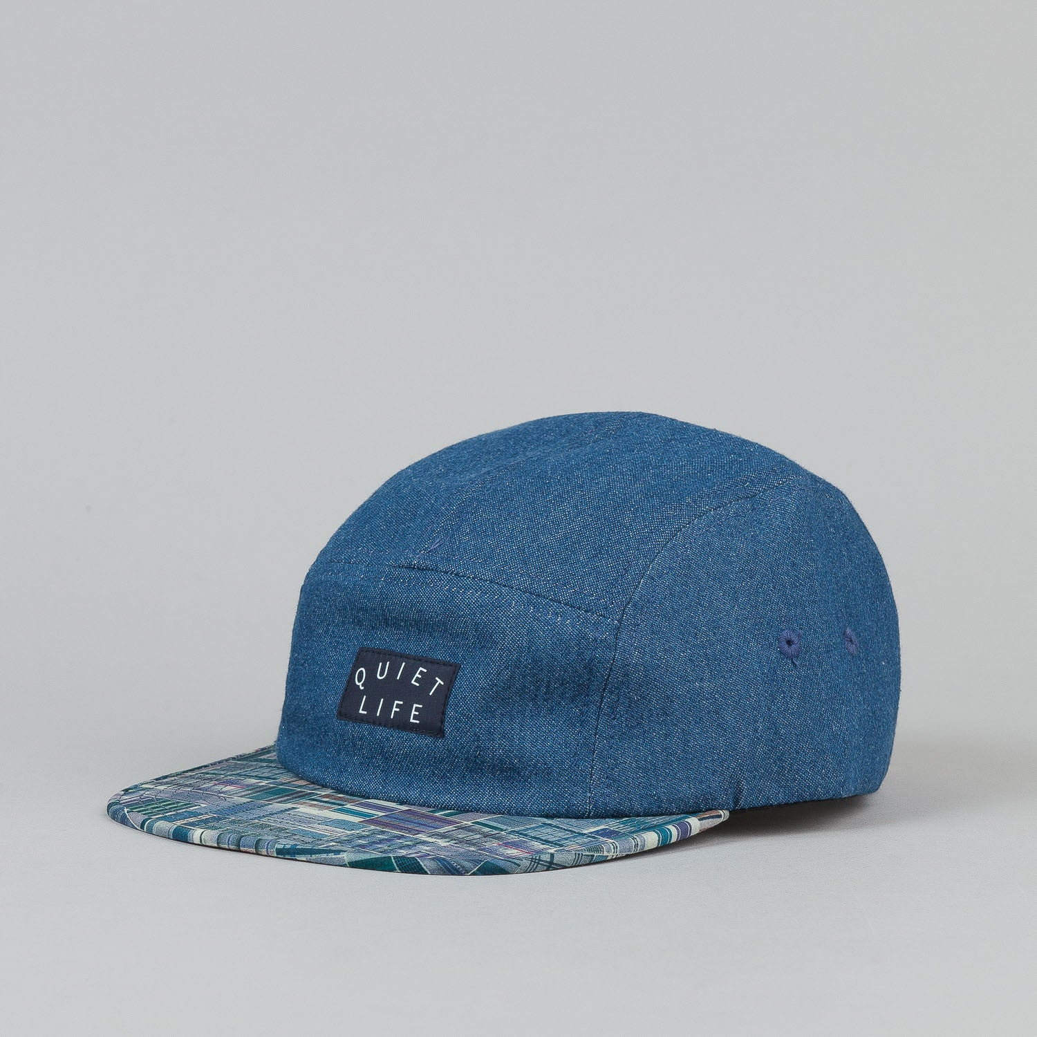 The Quiet Life Liberty Madras 5 Panel Cap