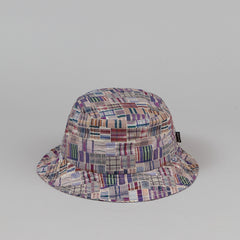 The Quiet Life Liberty Madras Bucket Hat - Burgundy
