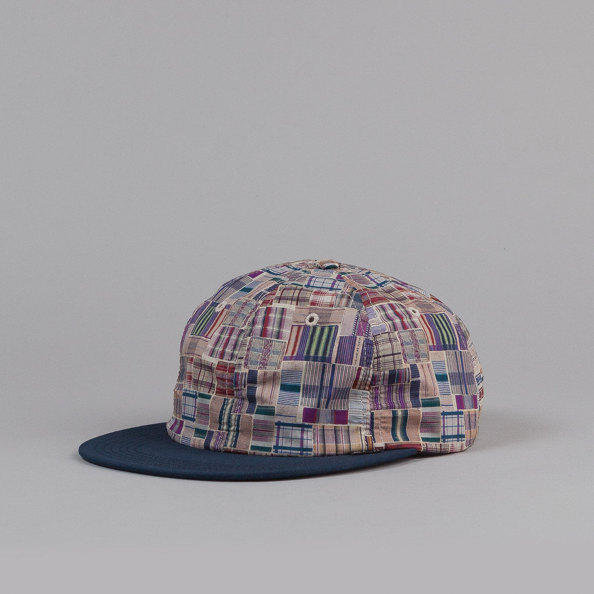 The Quiet Life Liberty Madras Polo Cap