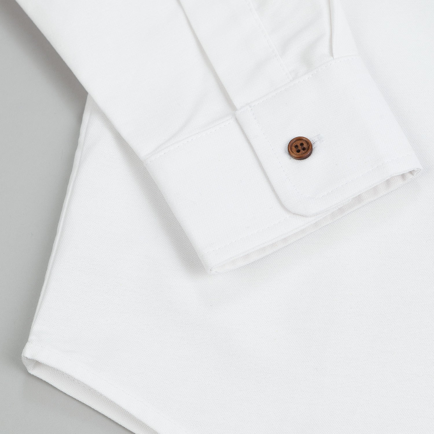 The Quiet Life Liberty Oxford L/S Shirt White