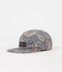 The Quiet Life Liberty Paisley 5 Panel Cap - Multi Colour
