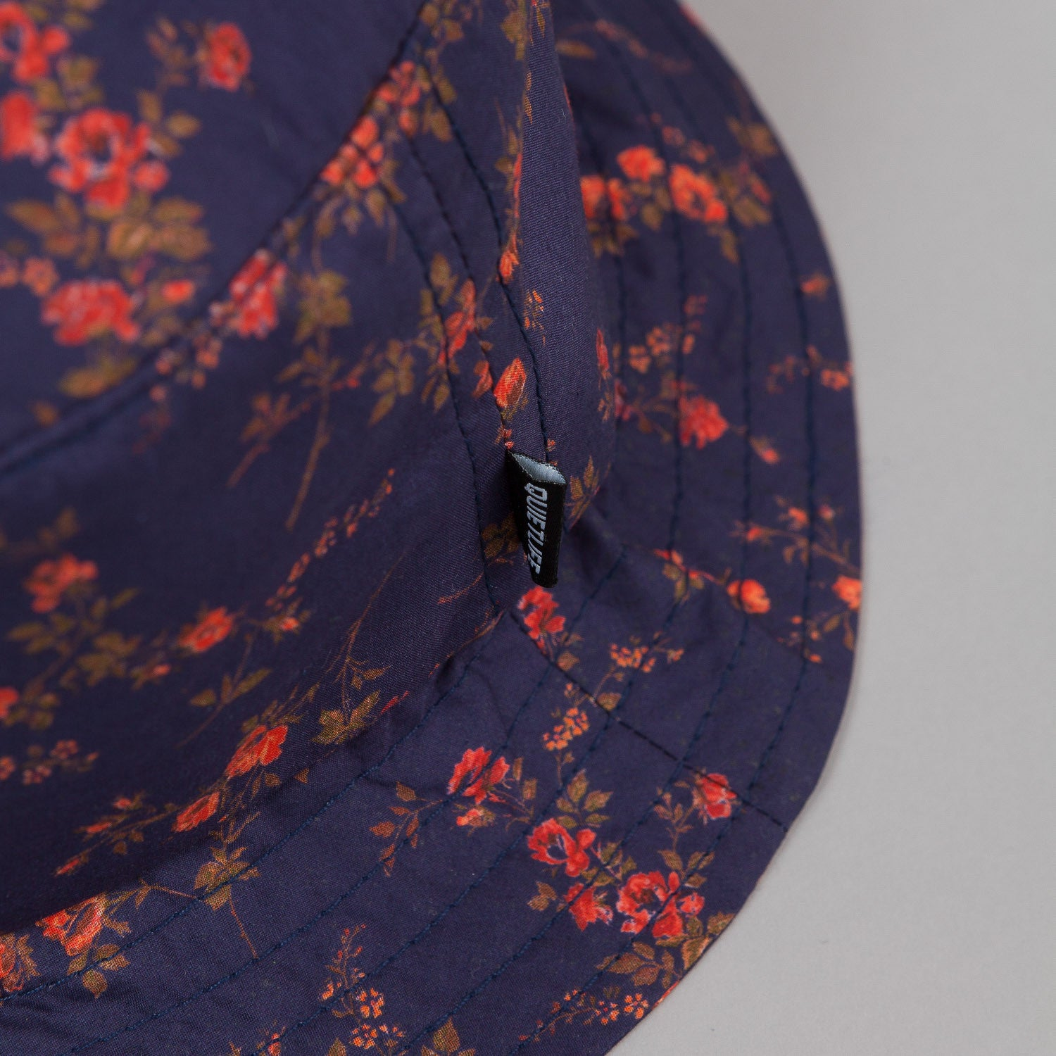 The Quiet Life Liberty Rose Bucket Hat - Navy All Over