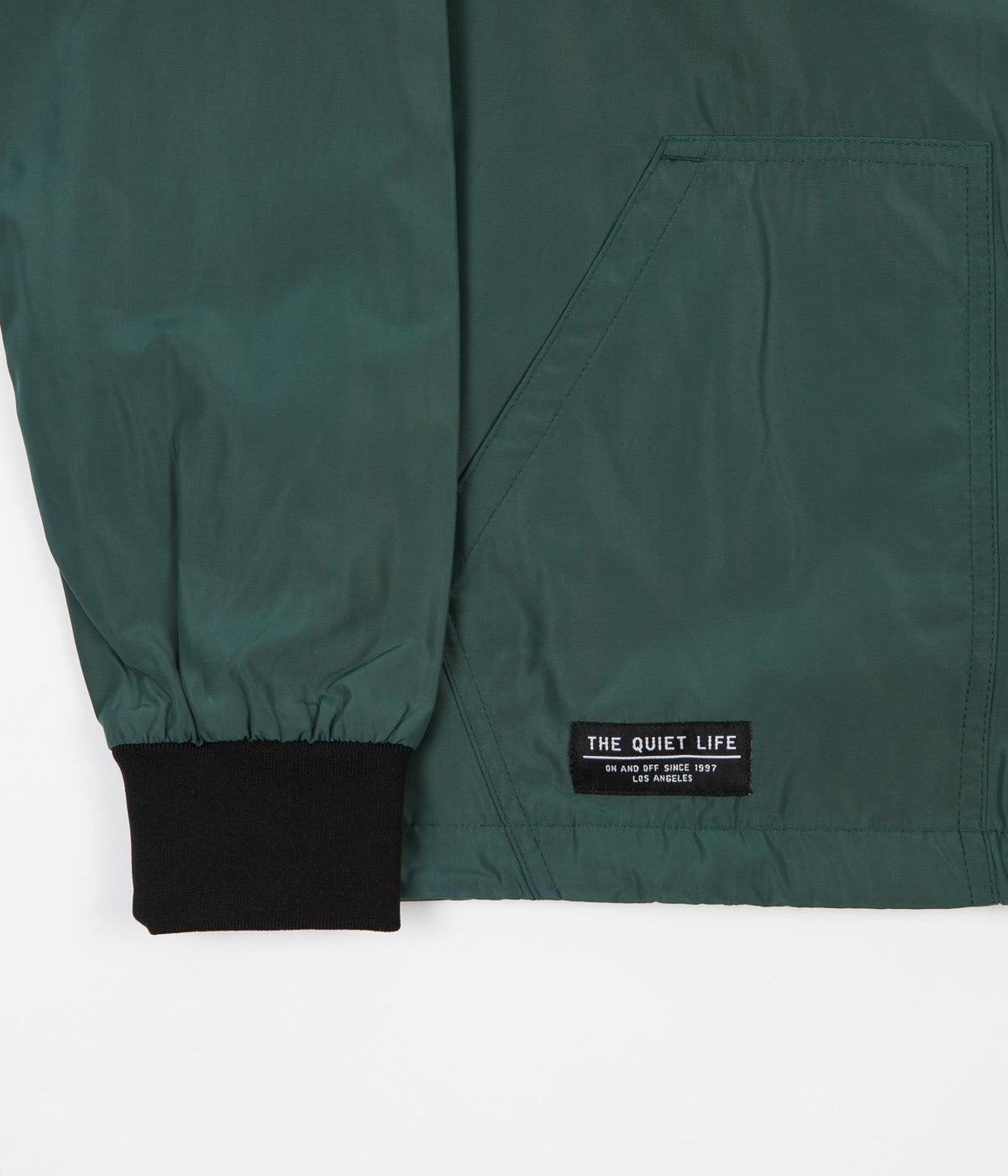 The Quiet Life Macaw Garage Jacket - Hunter Green