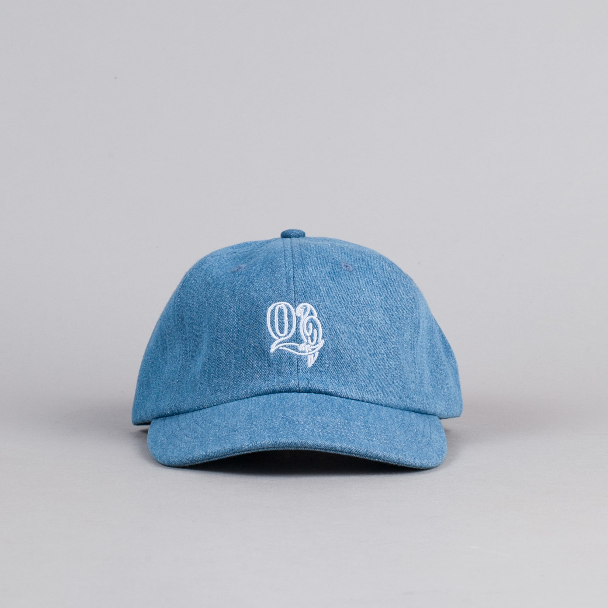 The Quiet Life Macaw Polo Cap - Light Denim