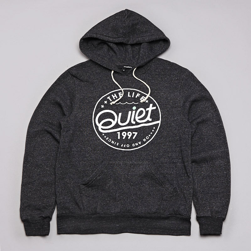 The Quiet Life Malibu Hooded Sweatshirt Black