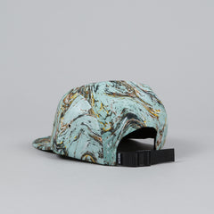 The Quiet Life Marble 5 Panel Cap Light Green