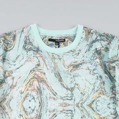 The Quiet Life Marble Crew Neck Light Green