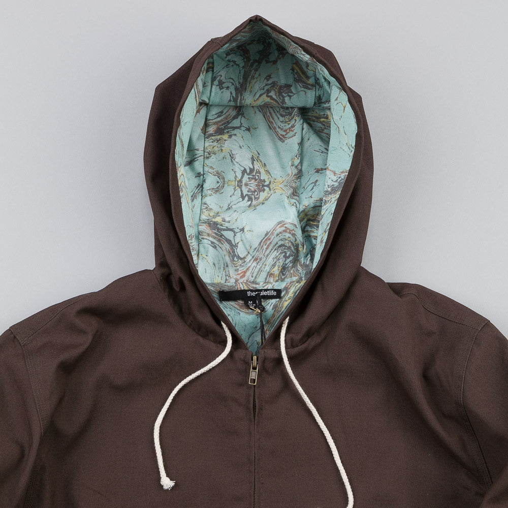 The Quiet Life Marble Hooded Coach Charcoal