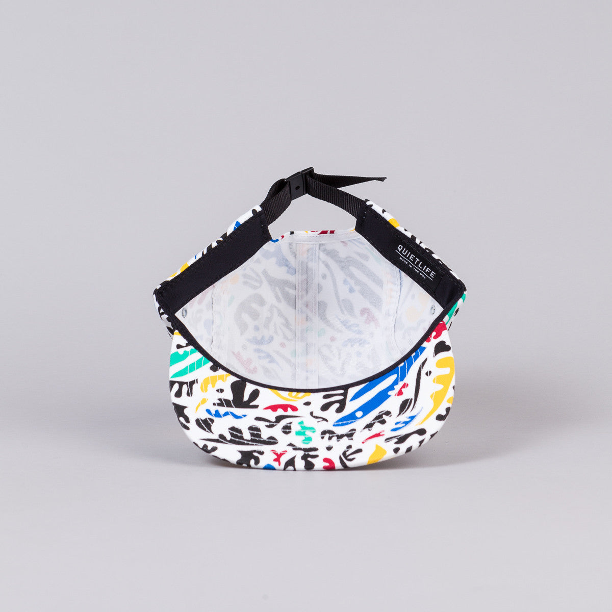 The Quiet Life Matisse 5 Panel Cap - White Print