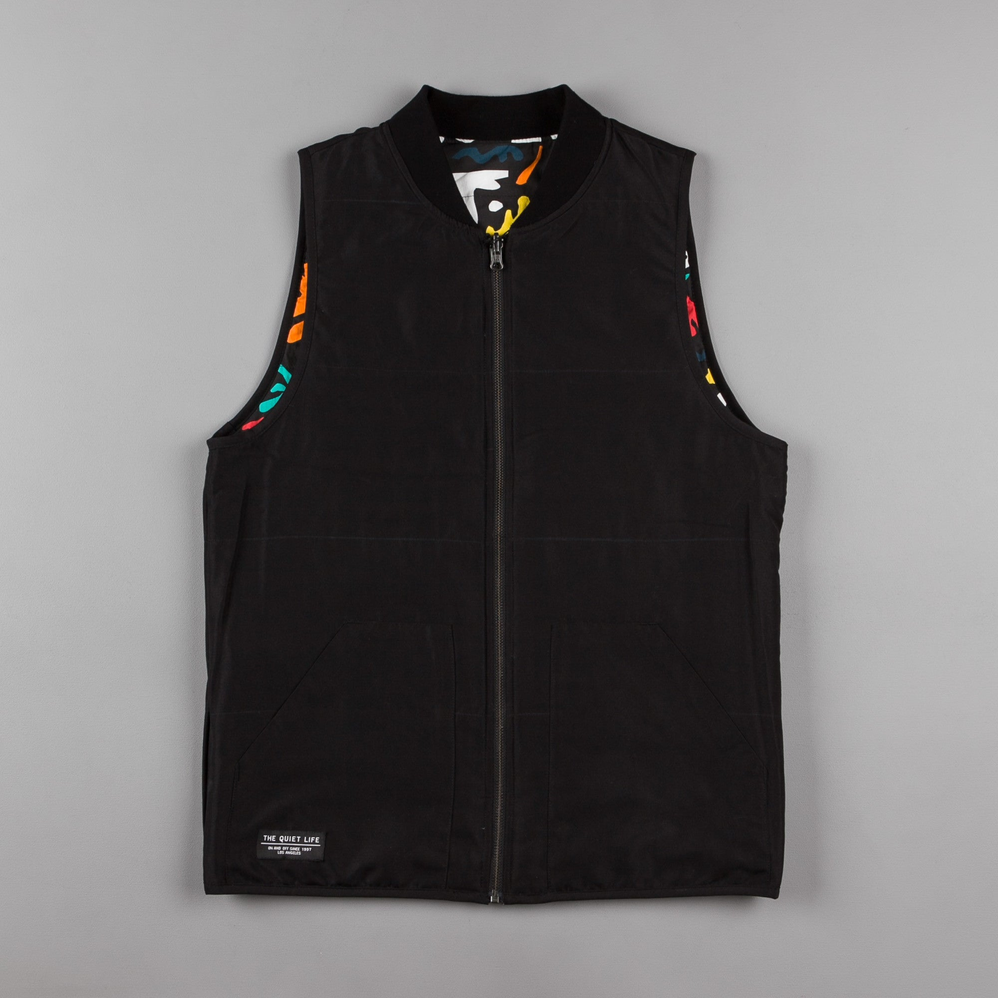 The Quiet Life Matisse Reversible Vest - Black