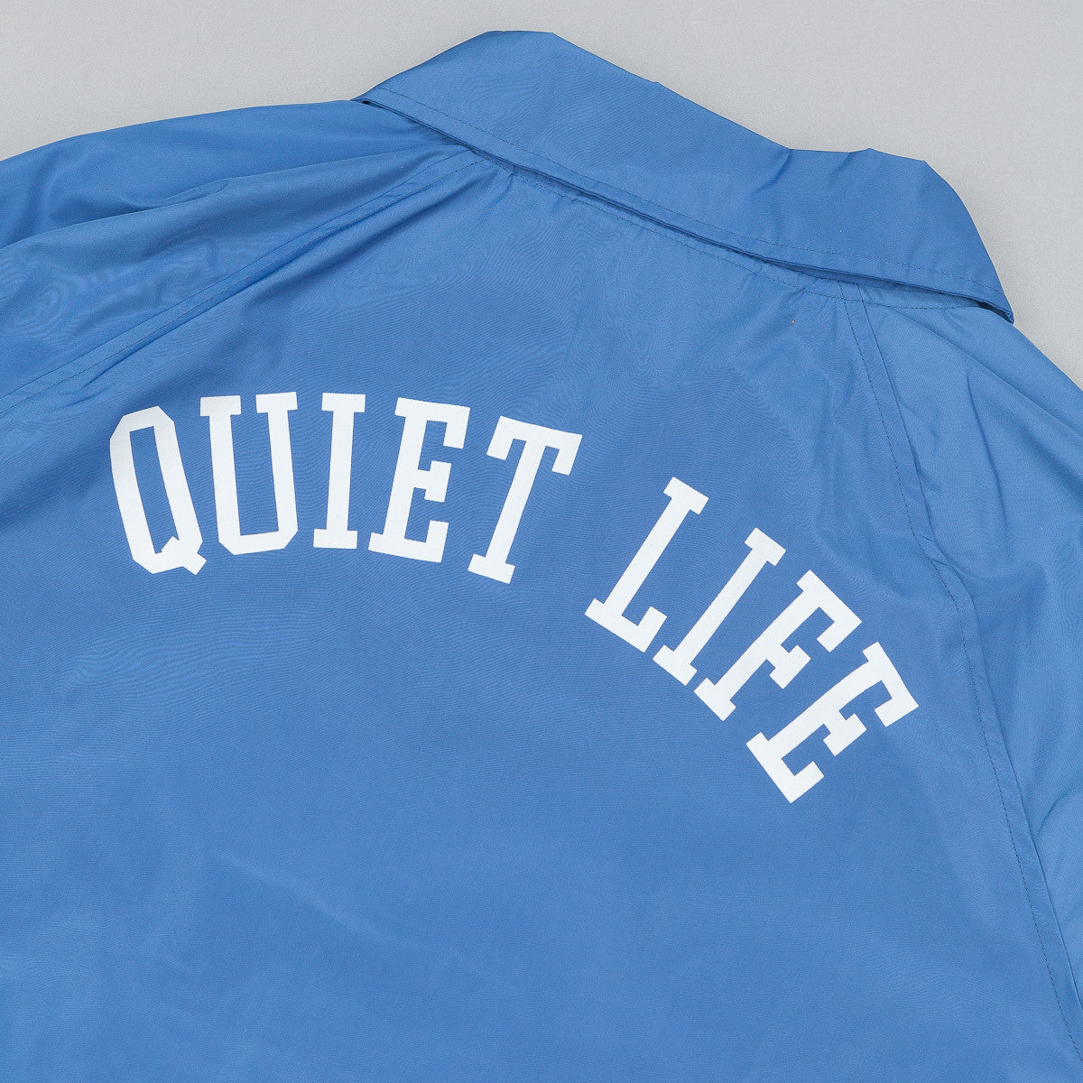 The Quiet Life Mesh Lined Garage Jacket - Blue