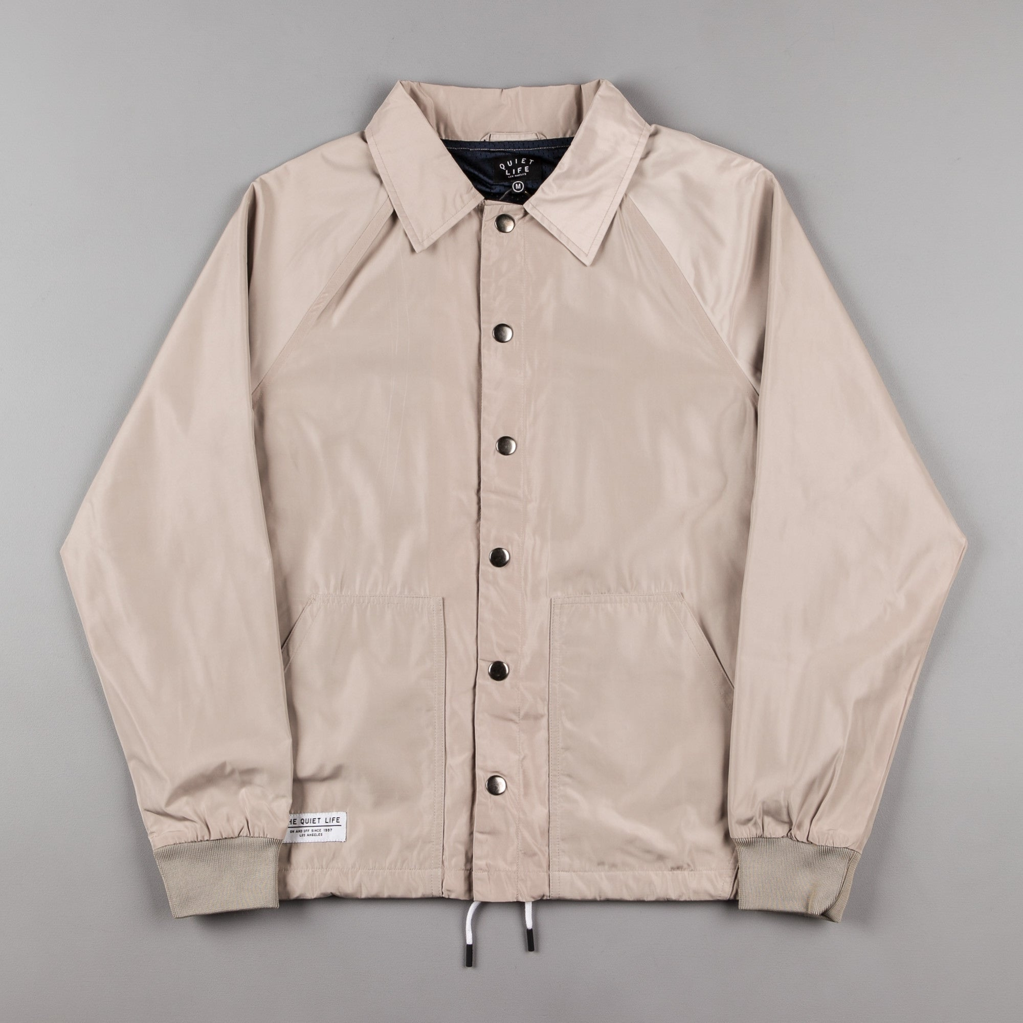The Quiet Life Mesh Lined Garage Jacket - Tan