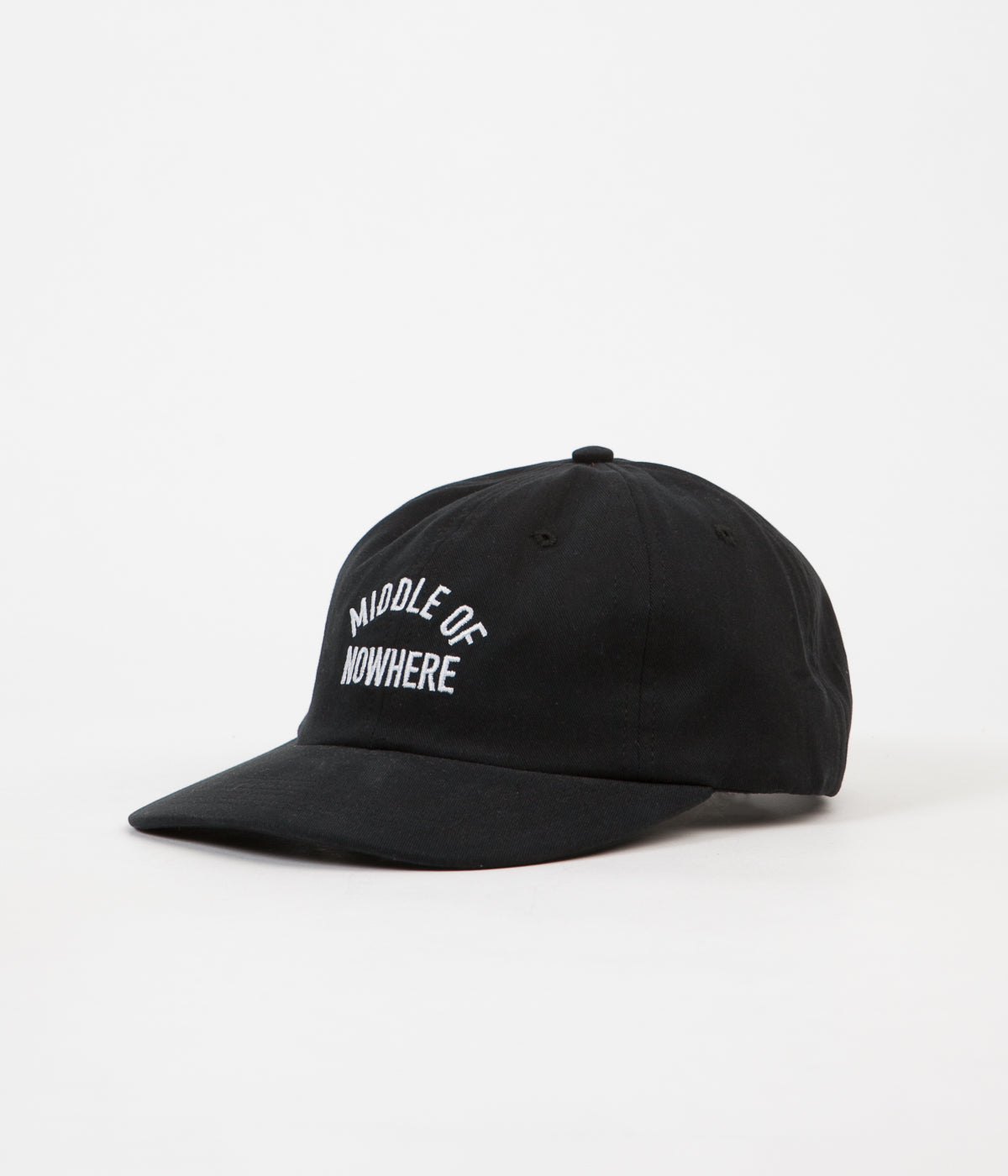 The Quiet Life Middle Of Nowhere Polo Cap - Black