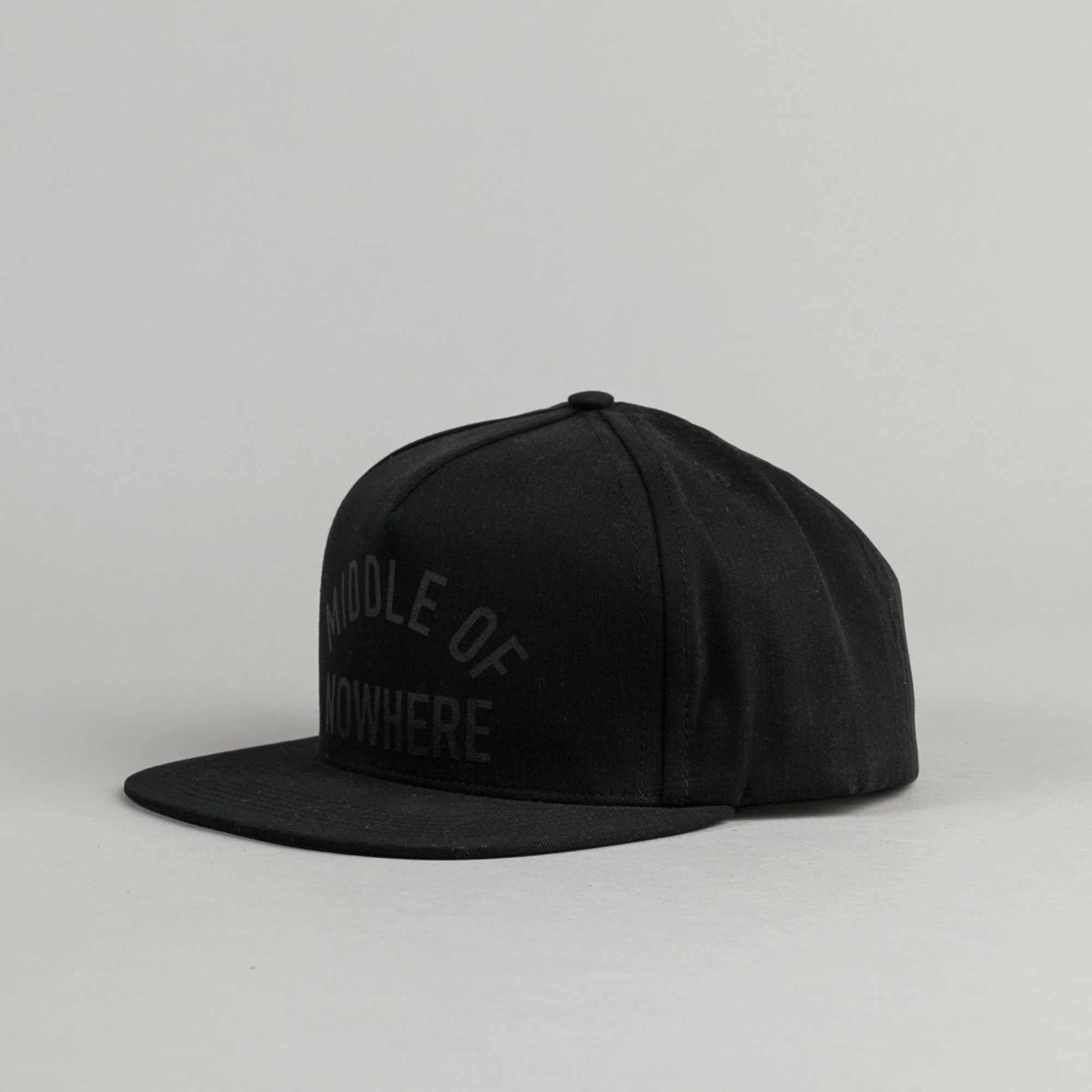 The Quiet Life Middle Of Nowhere Snapback Cap - Black