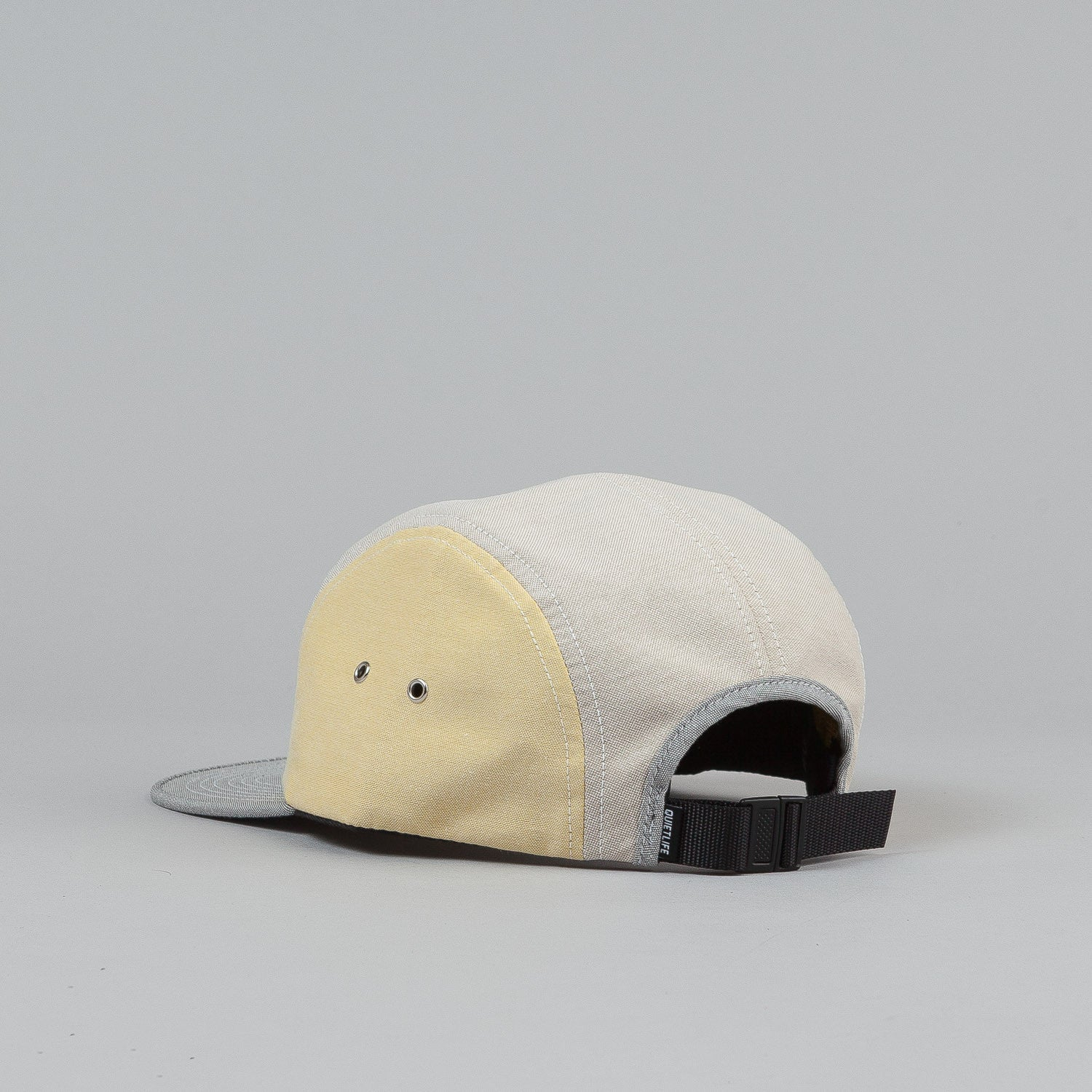 The Quiet Life Mixed Panel Oxford 5 Panel Cap