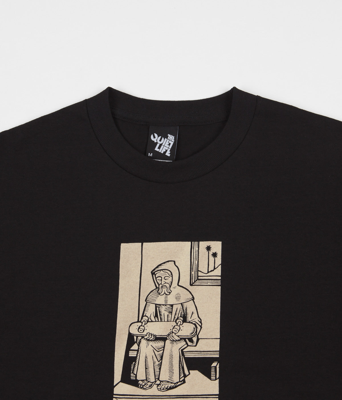 The Quiet Life Monk T-Shirt - Black