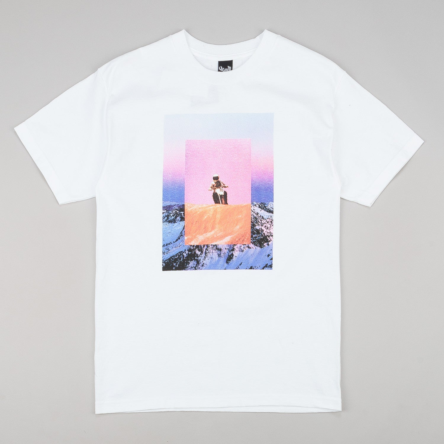 The Quiet Life Moto Mountain T-Shirt - White