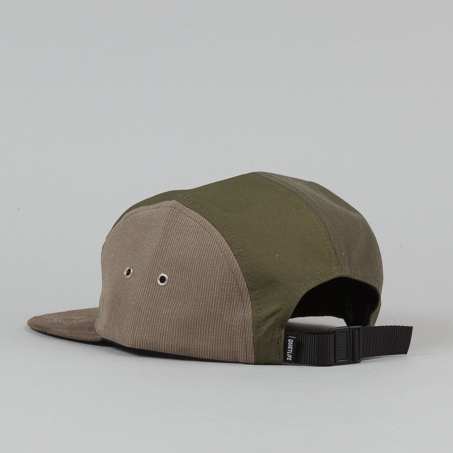 The Quiet Life Multi Panel 5 Panel Cap - Army