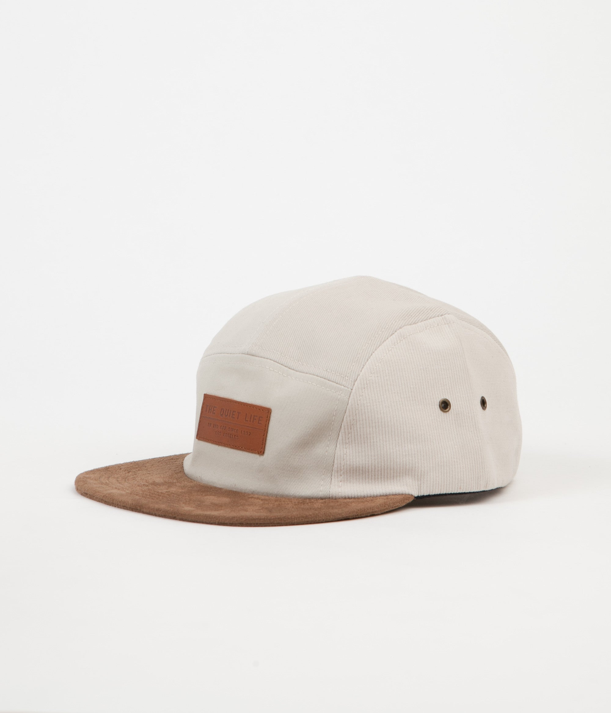 The Quiet Life Multi Panel 5 Panel Cap - Stone