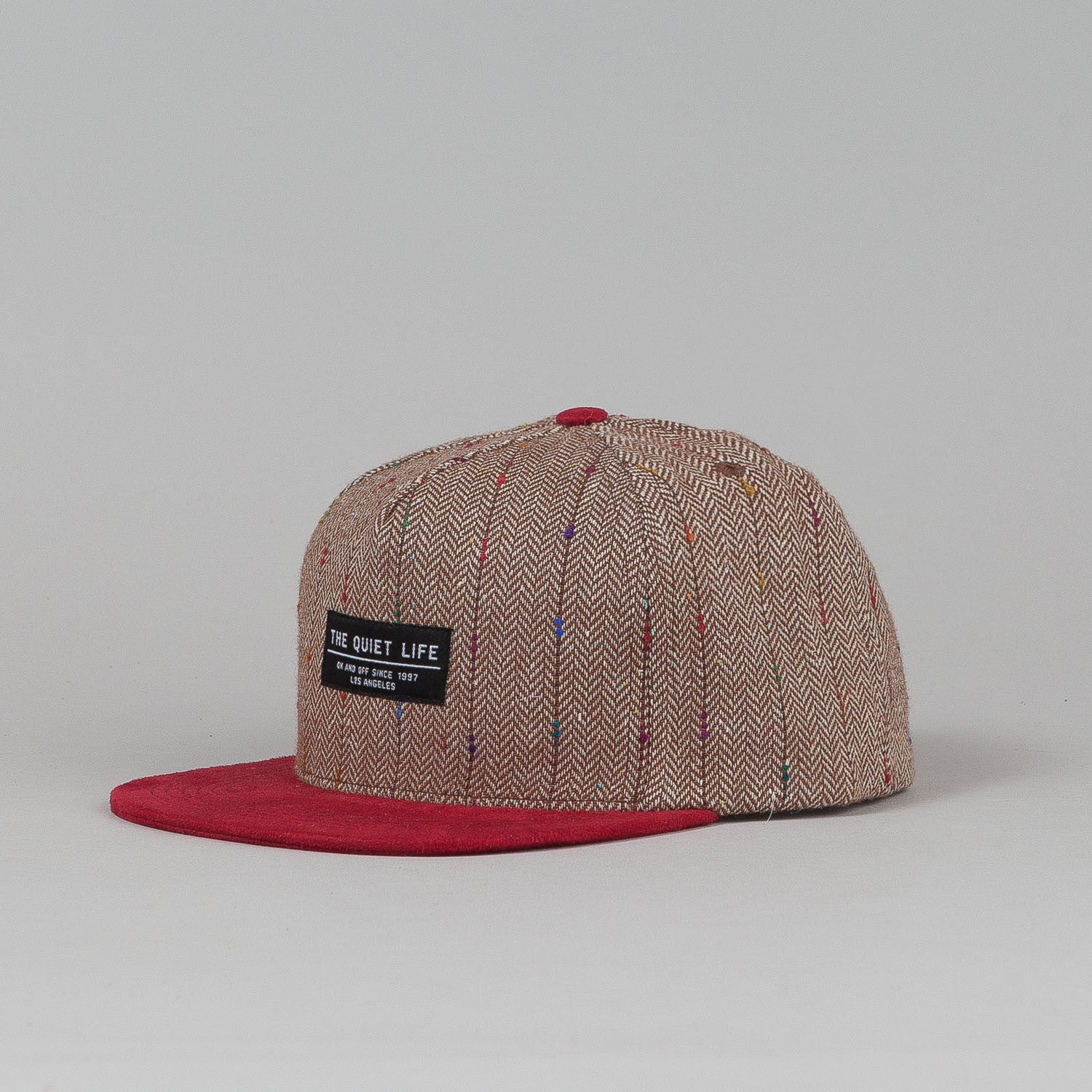 The Quiet Life Murphy Tweed Snapback Cap