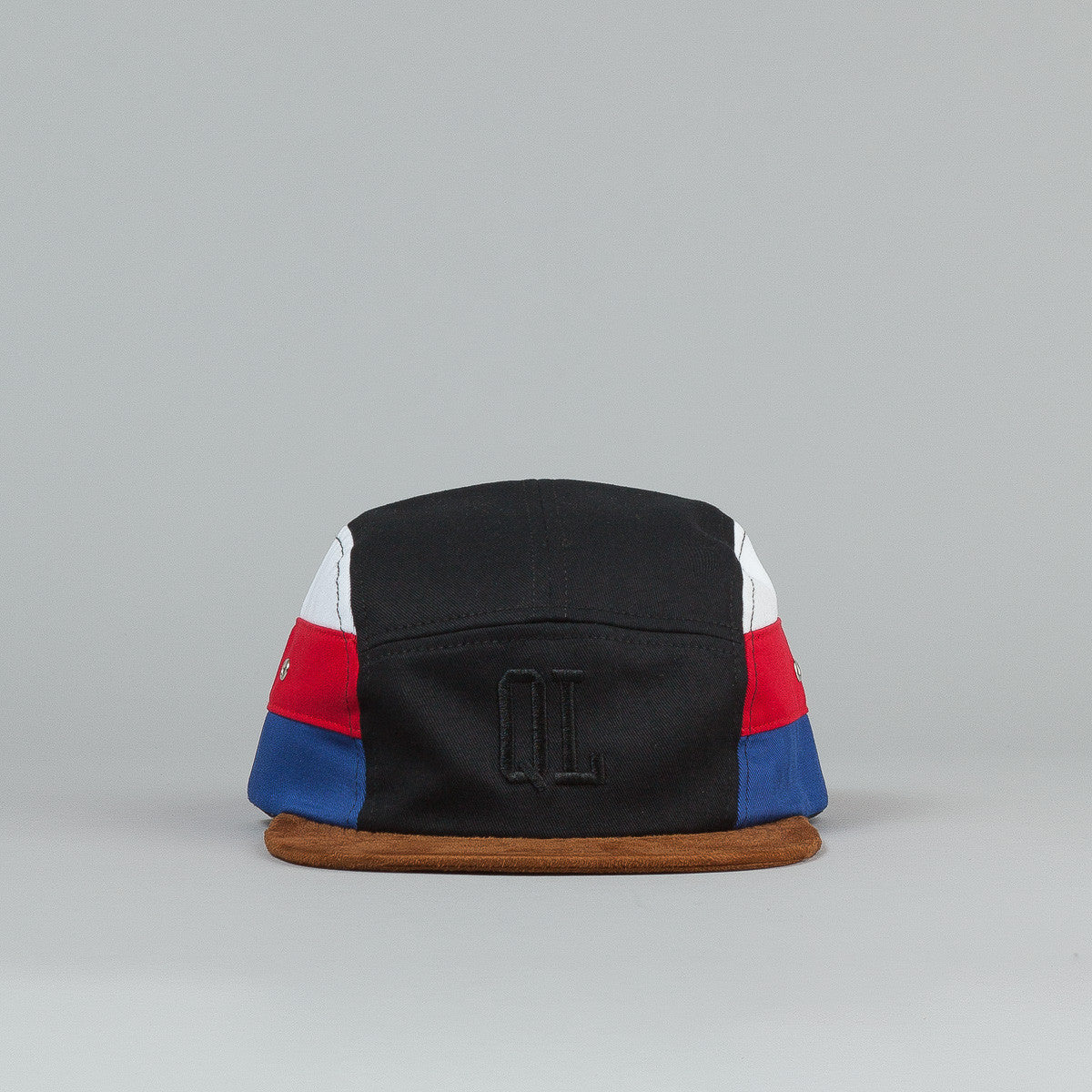 The Quiet Life Nation 5 Panel Cap - Black / Rust