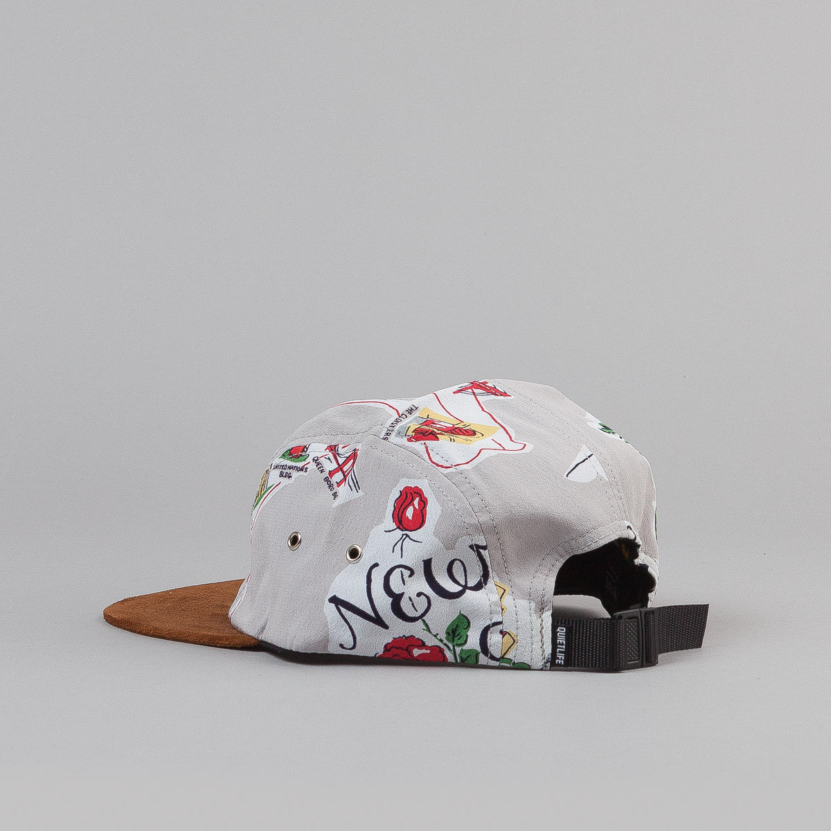 The Quiet Life New York 5 Panel Cap - Grey