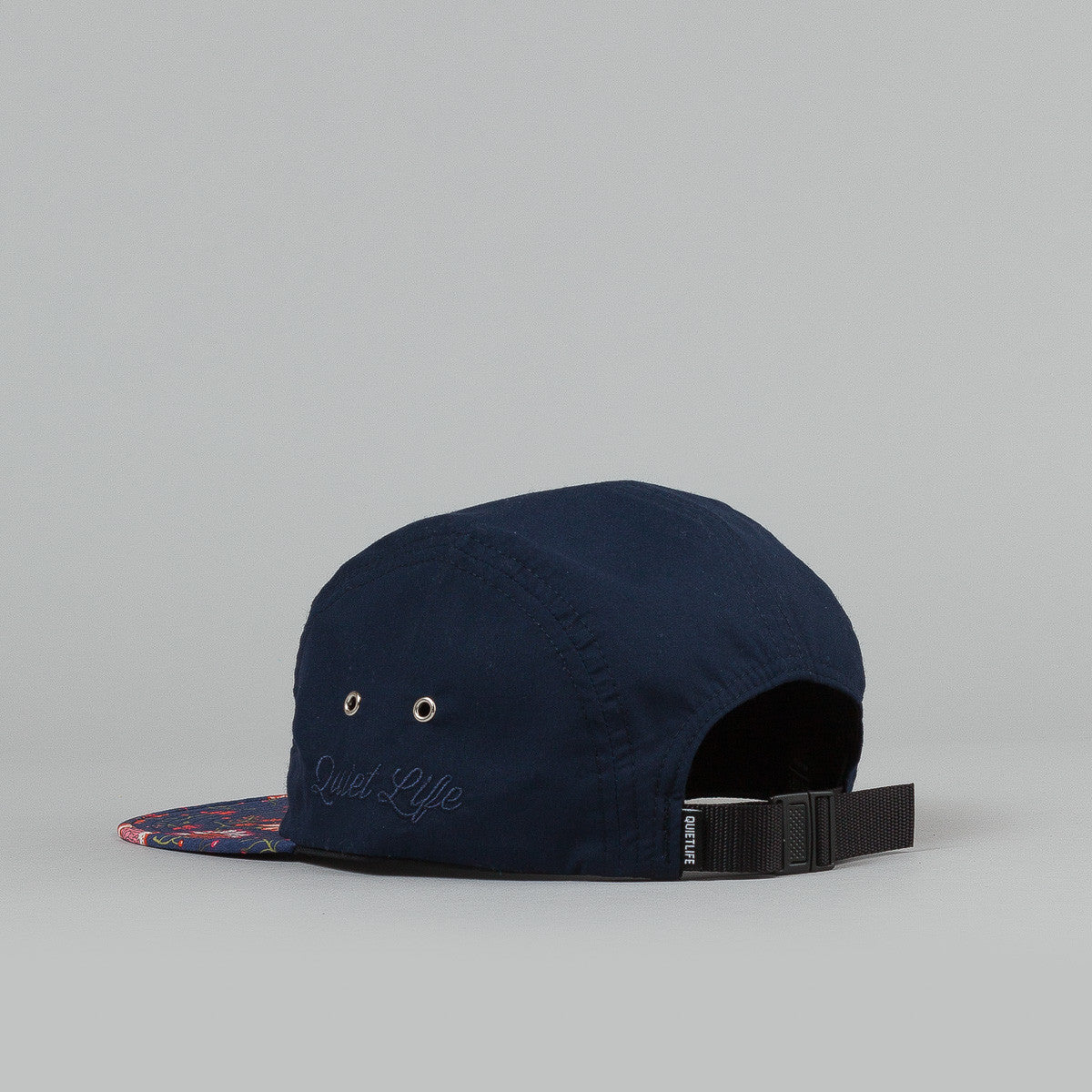 The Quiet Life Nikita 5 Panel Cap - Navy