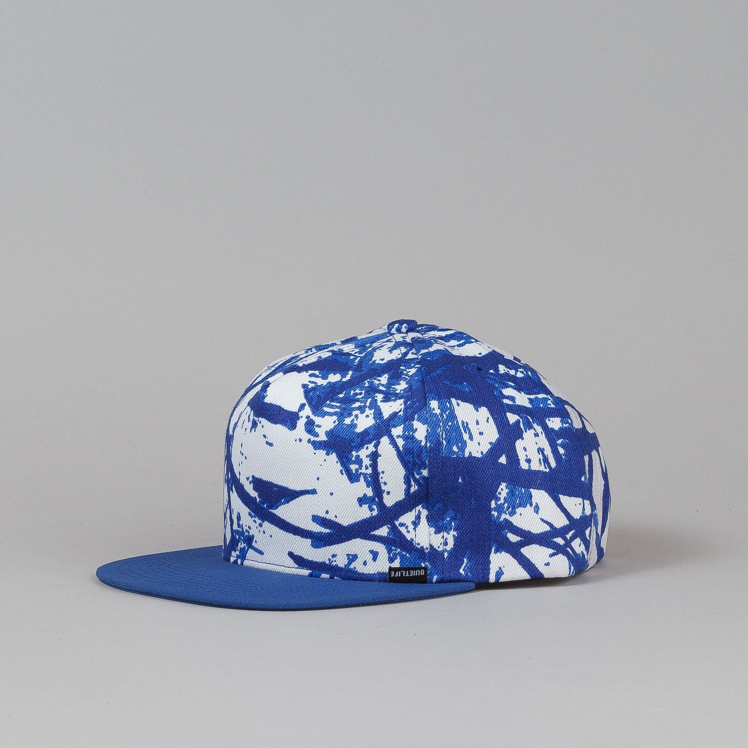 The Quiet Life No Label Snapback Cap Swirl / Blue Bill