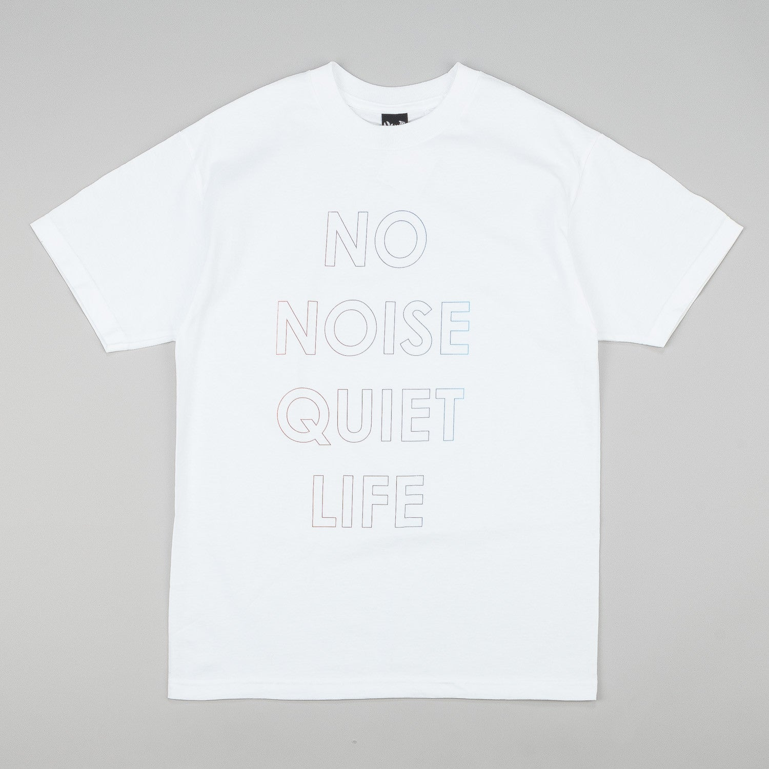The Quiet Life No Noise T-Shirt - White