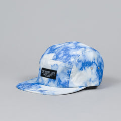 The Quiet Life Nylon Bleach 5 Panel Cap Blue