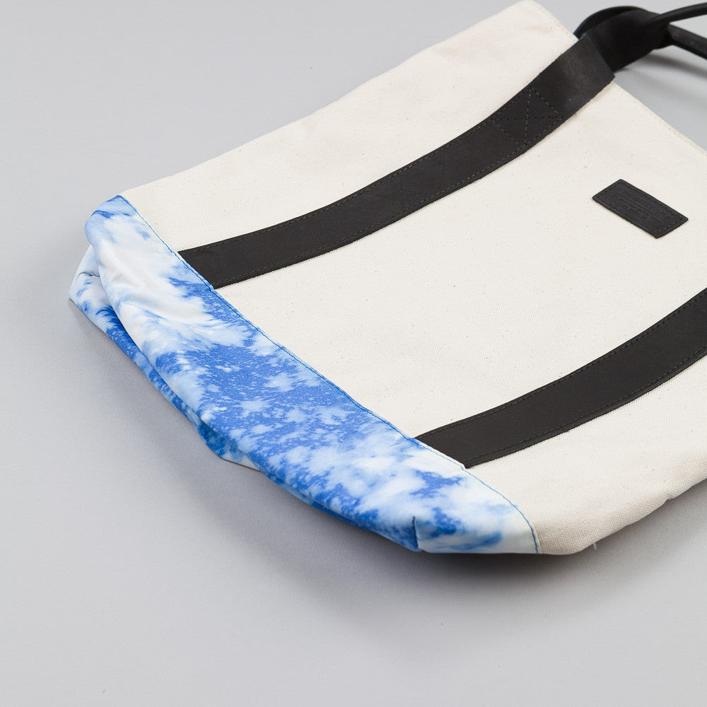 The Quiet Life Nylon Bleach Tote Blue