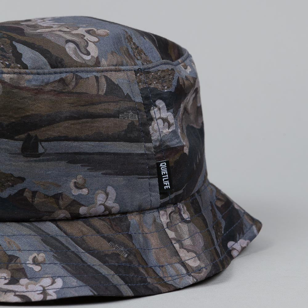 The Quiet Life Ocean Bucket Hat Black